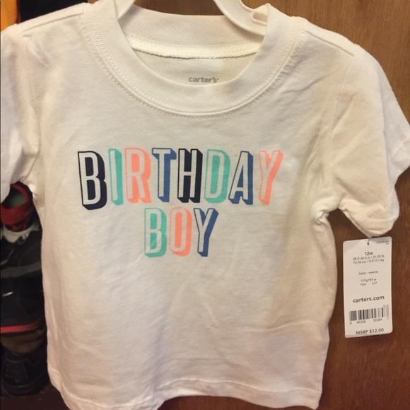 12 Month Birthday Boy Shirt